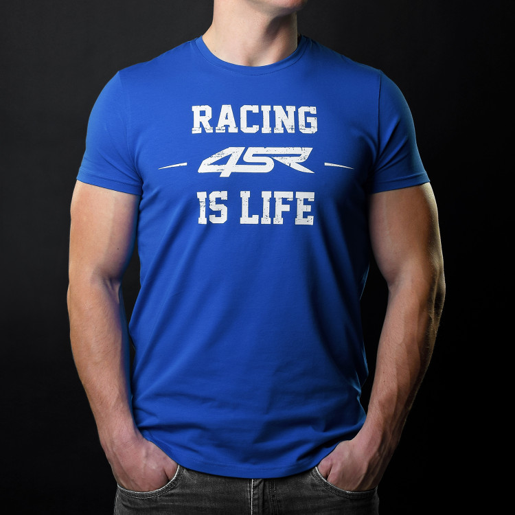T-shirt Life Blue