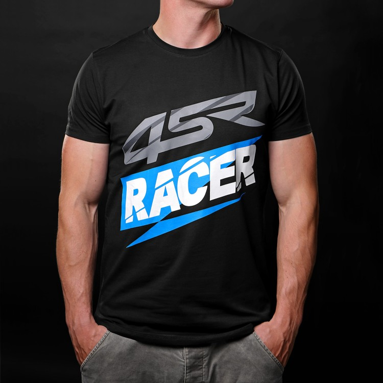 T-shirt Racer Black