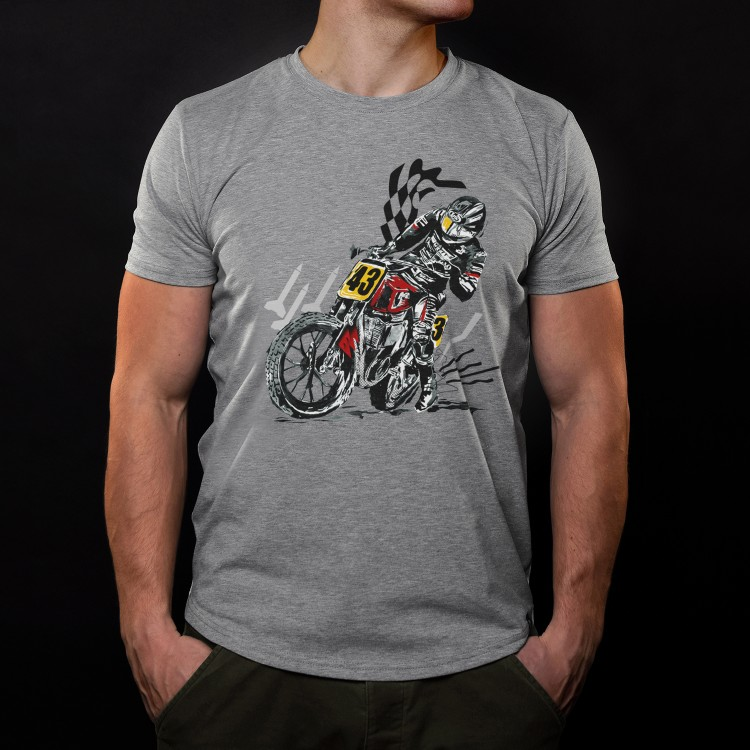 Flat Track Champion T-shirt