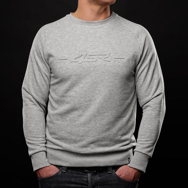 Sweatshirt Logo EMB Grijs