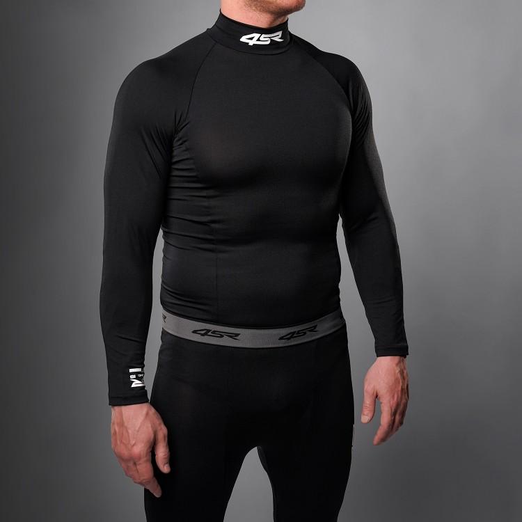 Functionele T-shirt Six-Pack Black