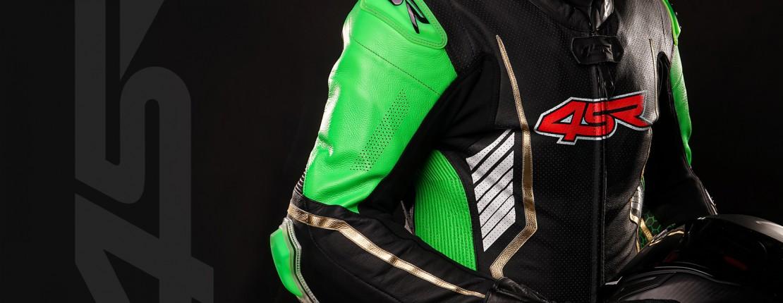 4SR jednodílná kombinéza Racing Monster Green
