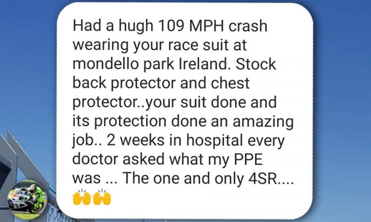 4SR Crash test - customer review